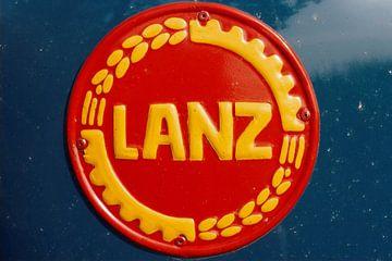 Altes Logo Lanz Bulldogge von Pieter van Dijken