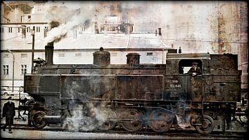 Steam locomotive 93.1446 van Leopold Brix