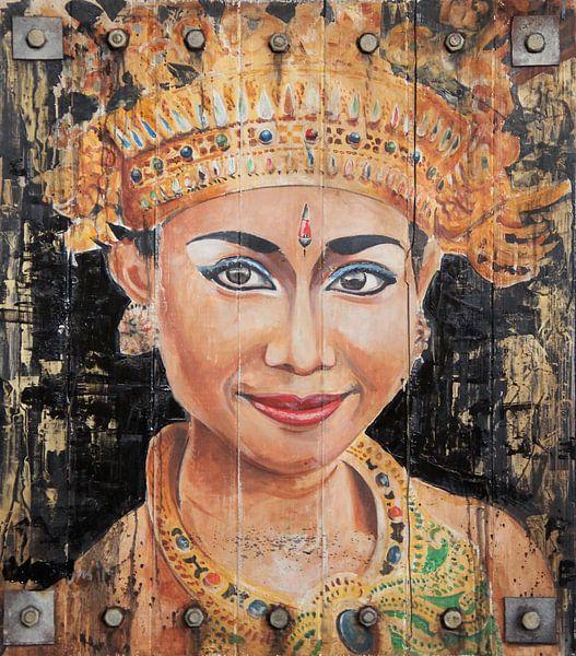 Balinese danseres van Jeroen Quirijns