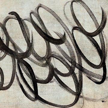 Schleifen Abstrakt von David Potter