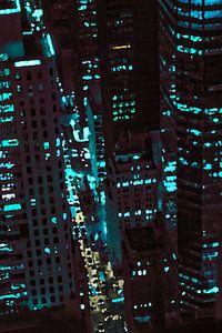 Lichter der Stadt New York von E Jansen