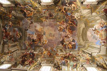Plafond kerk Rome van