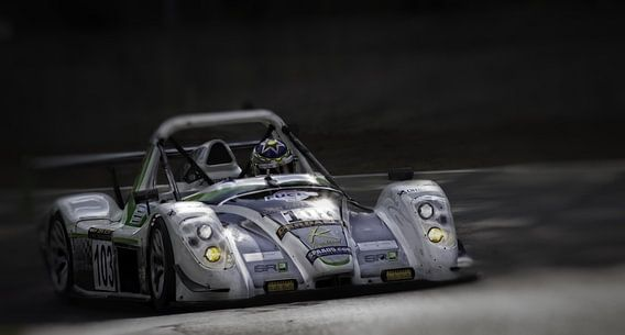 Radical on Zolder racetrack