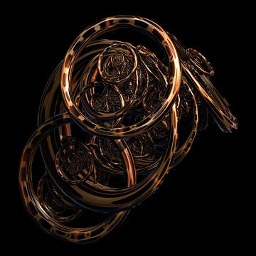 Fractal van Rosa Fotoart