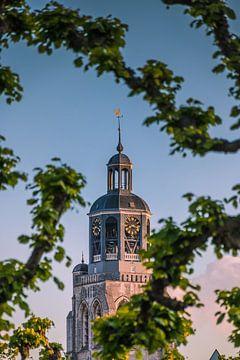 Doorkijk met de Peperbus van Bergen op Zoom van Rick van Geel