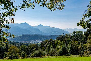 Panorama Chiemgau Alpen von Peter Baier