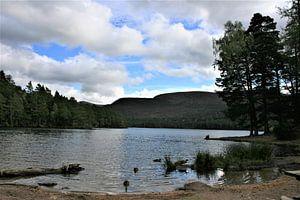 Meer in de Schotse Hooglanden van Floortje Mink