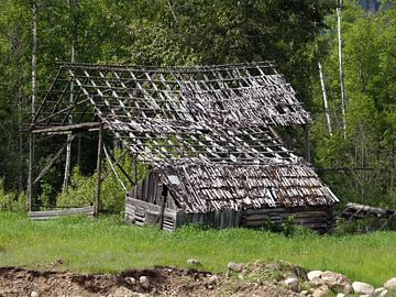 Wooden Barn Canada  von Tonny Swinkels