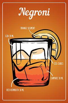 Negroni Cocktail van Amango