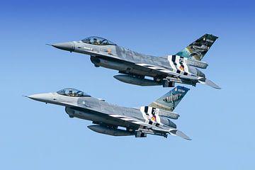 Belgische F-16 Fighting Falcons van Marc Hederik