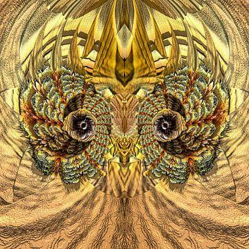 Fantasierijke abstracte twirlillustratie 106/74 van PICTURES MAKE MOMENTS