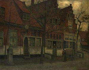Häuser an der Breedstraat, Enkhuizen, Eduard Karsen