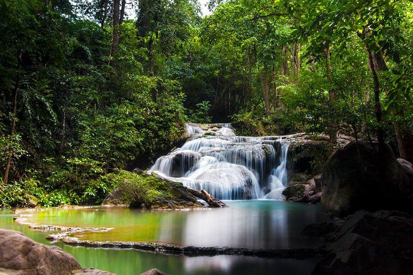 Erawan National Park (Thailand) sur Giovanni della Primavera