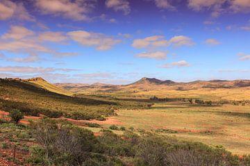 Berglandschap Australië van Henk van den Brink