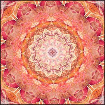 Mandala gouden aura van Christine Bässler