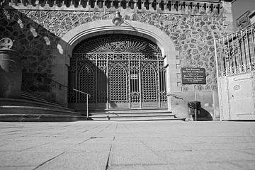 Schmiedeeisen Tor Barcelona von EFFEKTPHOTOGRAPHY.nl