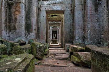 Preah Khan Tempel in Angkor Wat van