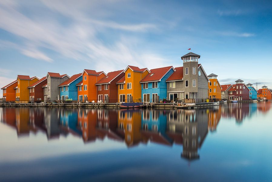 Reitdiephaven Groningen van Edwin Mooijaart