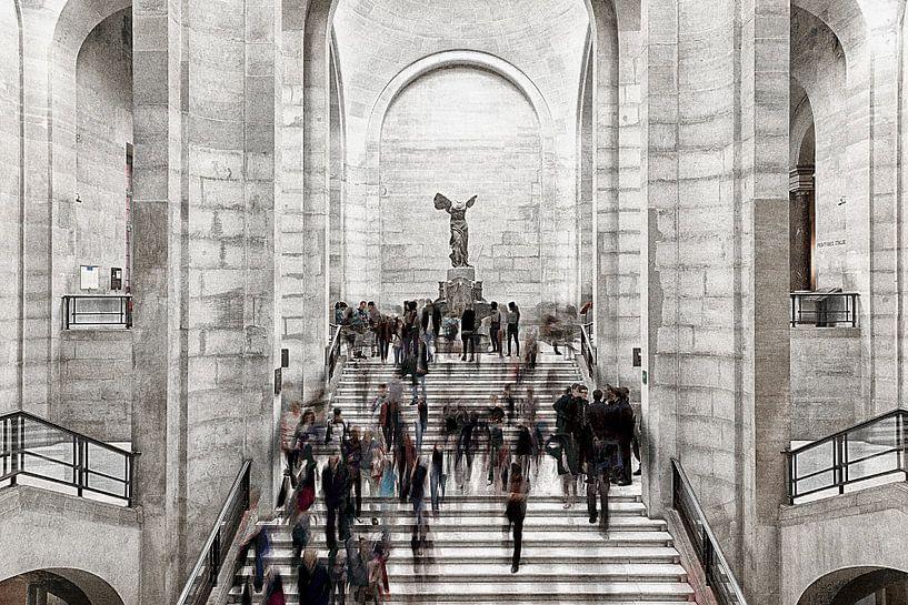 Winged Victory, Paris 2012 van Xlix Fotografie