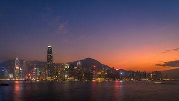Skyline HK Island