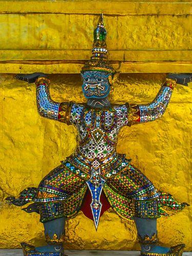 Bewaker van de tempel, Thailand