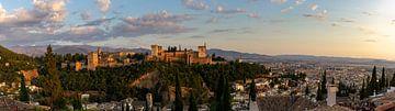 Granada Panorama van Dennis Eckert