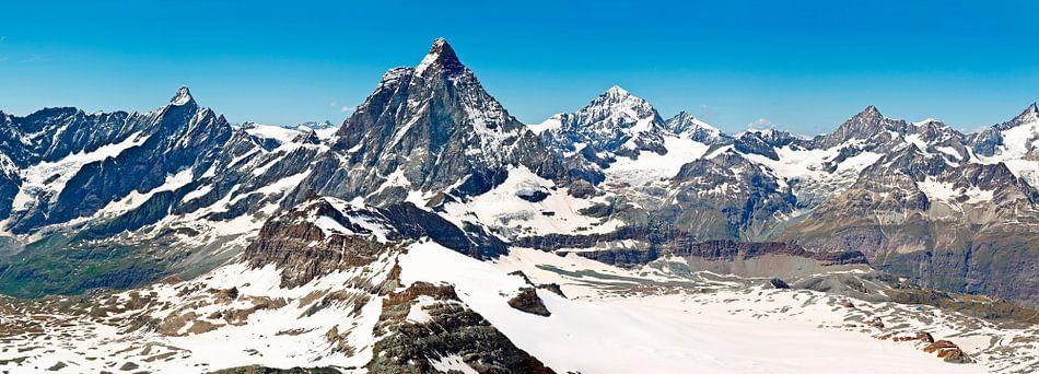 Panorama Matterhorn van Anton de Zeeuw