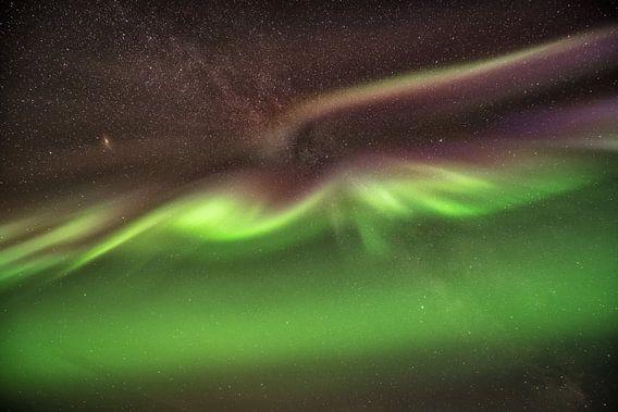 Aurora in der Luft