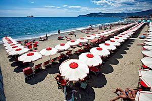 Italiaans strand van