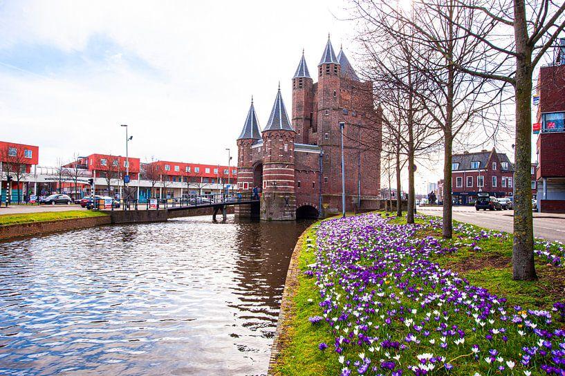 Amsterdamse Poort te Haarlem. van Brian Morgan