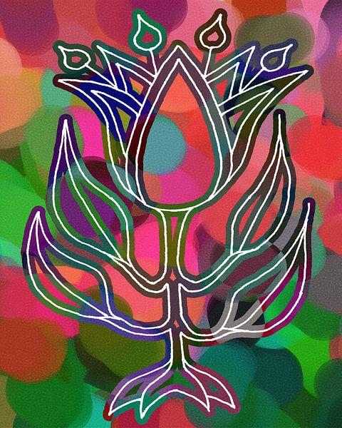 La Tulipe uniquement pour ceux qui osent sur MY ARTIE WALL