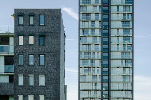 Woontoren Sirene en appartementen Arcos in Almere Haven