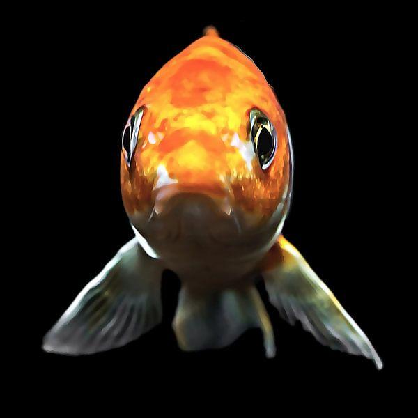 Blub, ik ben een vis van Art by Jeronimo