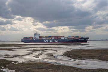 Containerschip von Marcel Klootwijk