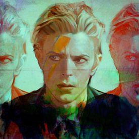 David Bowie the Duke - 3 Faces  von Felix von Altersheim