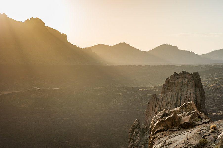 Zonsondergang Tenerife van Bart Mozer
