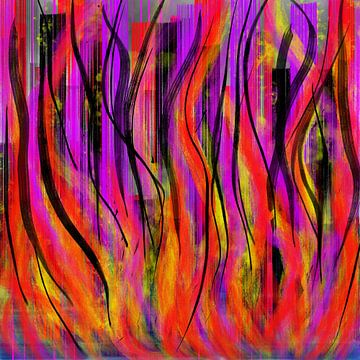 Stadt in Flammen. von Neval's place