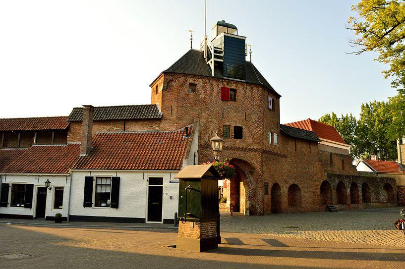 Vischpoort in Harderwijk van Gerard de Zwaan