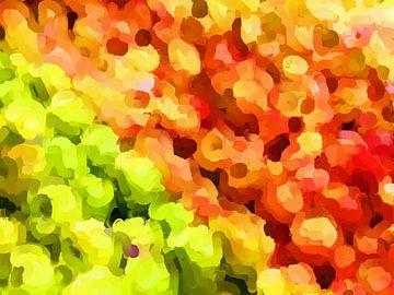 Summertime Garden Apples van Judith Robben