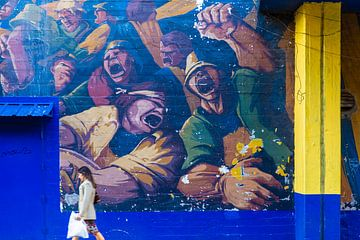 Go Boca Juniors! van Ron Van Rutten