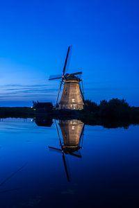 Molen Kinderdijk (blauwe uurtje..)