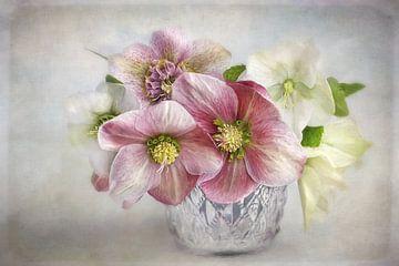 Bloemen Romantiek - laatste kleuren van Lizzy Pe