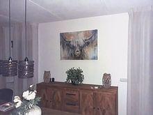 Photo de nos clients: Highland Vache I sur Atelier Paint-Ing, sur toile