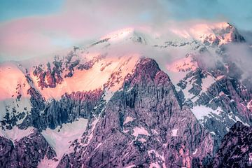 Mountains at Berchtesgadener Land van Maurice Meerten