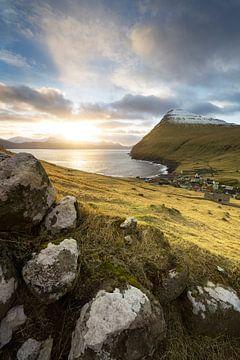 Färöer Inseln Sonnenaufgang von Stefan Schäfer
