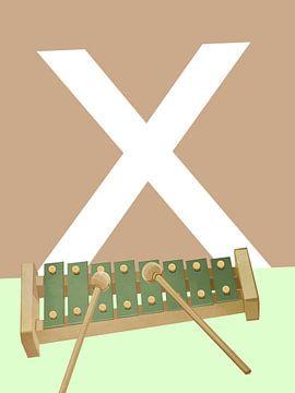 X - Xylophon von Goed Blauw