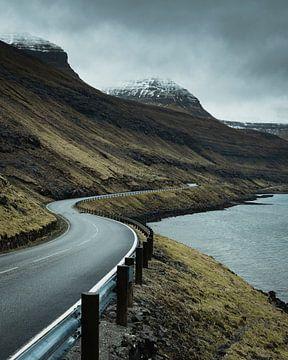 Färöer Inseln Straße von Stefan Schäfer