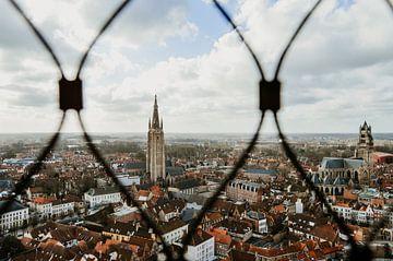 Stadtbild Brügge von Aline van Helden
