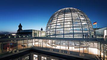 Architectural Photography: Berlin – Reichstag Dome sur Alexander Voss