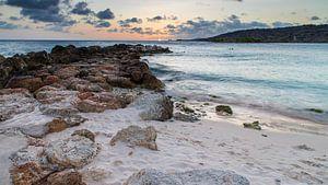 Zonsondergang Curaçao van Willemke de Bruin